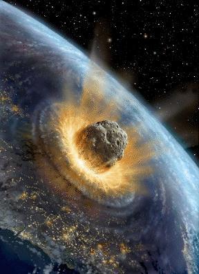 Kometeneinschlag Erde